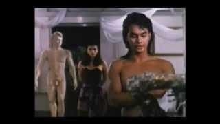 Machete 2 (1990) - Hot Male Model To Stone Statue - Clip 1 of 6