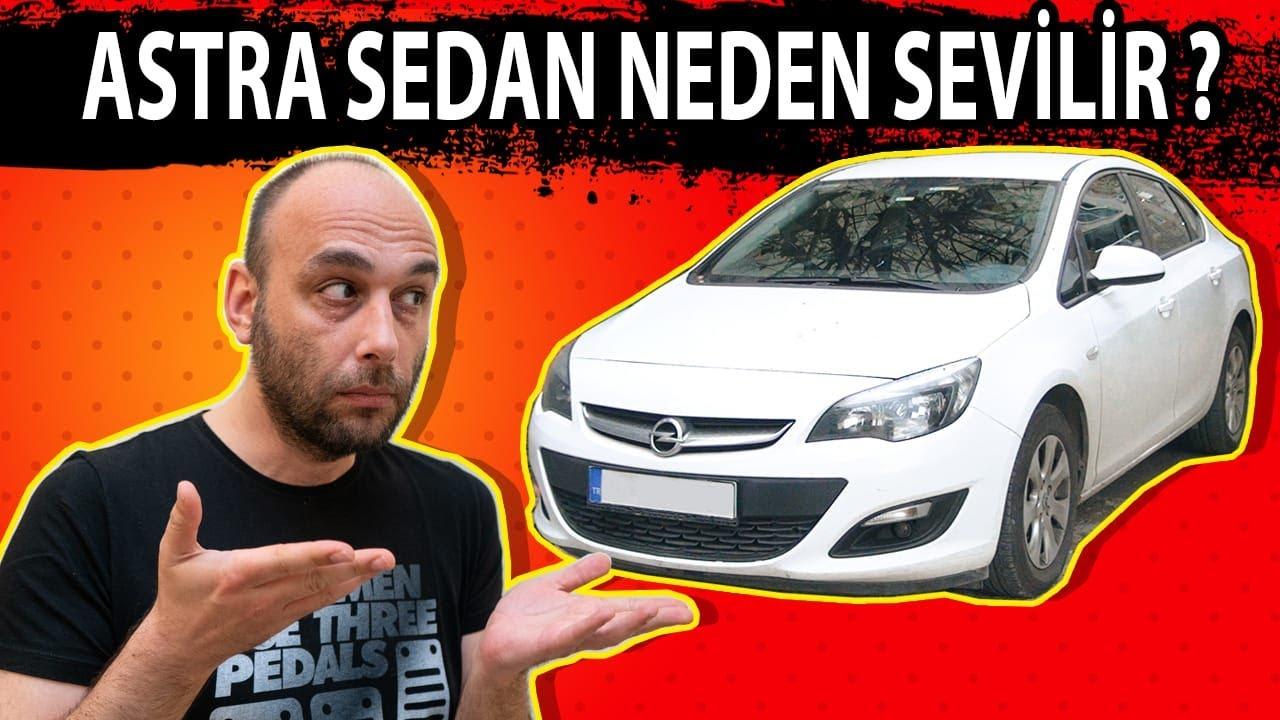 Opel Astra J Sedan 1.6 CDTI Otomatik (2017) / Kompakt Sınıftaki Son Sedan Astra