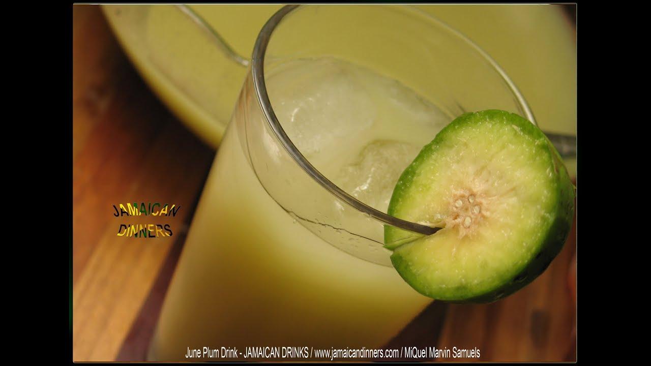 june plum juice drink youtube