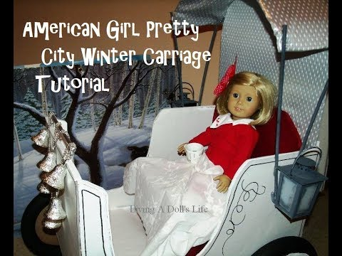 DIY - Make AG Pretty City Winter Carriage
