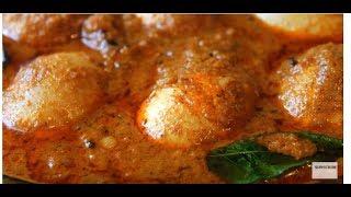 വറുത്തു അരച്ച നാടൻ മുട്ട കറി   Varutharacha Mutta Curry  Egg Curry
