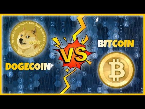 Dogecoin VS Bitcoin - Why Is Dogecoin BETTER Than Bitcoin?