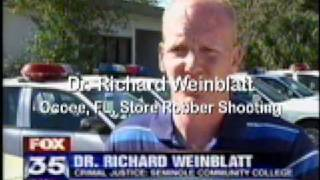 Weinblatt Ocoee Store Robber Shooting TV News Interview 01/06/09