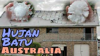 Australia Kini Ditimpa Hujan Batu Selepas Kebakaran Dahsyat Yang Lalu