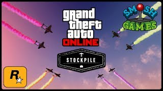STOCKPILE Mode with SMOSH GAMES (GTA Online Live Stream)