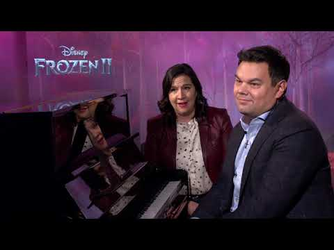 """FROZEN Songwriters Talk/Perform """"Into The Unknown"""""""