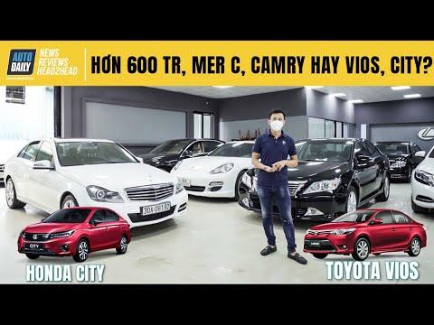 Hơn 600 triệu, chọn Mercedes C250, Toyota Camry cũ hay Toyota Vios, Honda City mới?