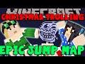 MINECRAFT EPIC JUMP MAP: Christmas Trolling! (#1) Humbug!