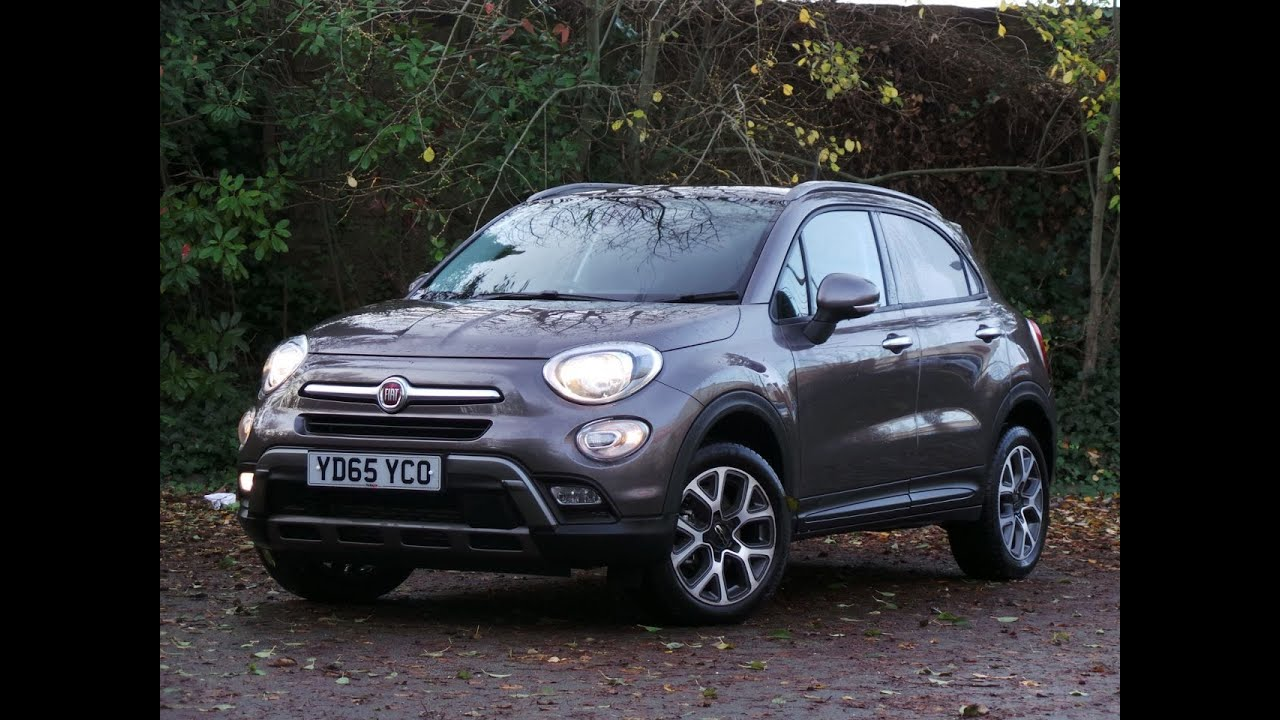 2015 65 fiat 500x 1 4 multiair cross 5dr in bronze youtube. Black Bedroom Furniture Sets. Home Design Ideas
