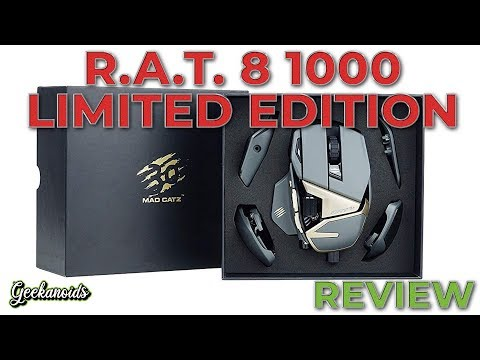 Mad Catz R.A.T. 8+ 1000 Limited Edition Gaming Mouse Review
