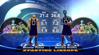 NBA 2K15 Gameplay Space Jam pro Looney Tunes HD