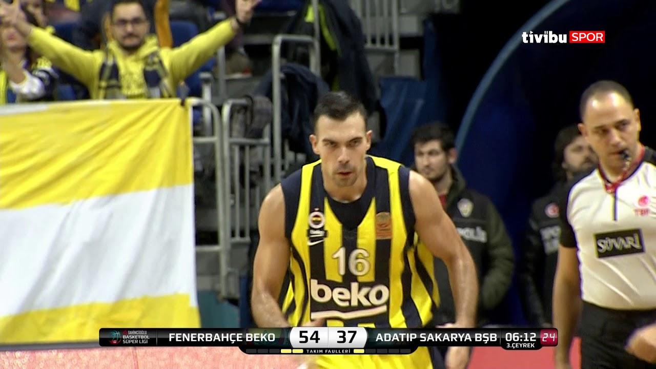 Maç Özeti:Fenerbahçe Beko - Adatıp Sakarya Bşb Basketbol