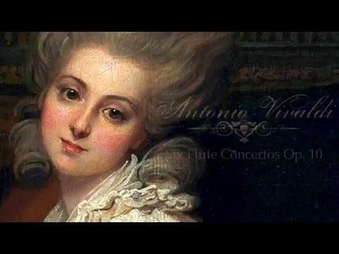A  VIVALDI, Six Flute Concertos Op 10, Academy of Ancient Music 1