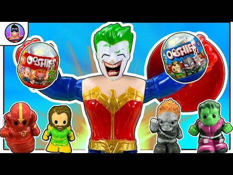 TREASURE HUNT #17!   Superheroes BATTLE For TOYS!  |  DC & Marvel Ooshies XL & BOXED WARRIORS !!!