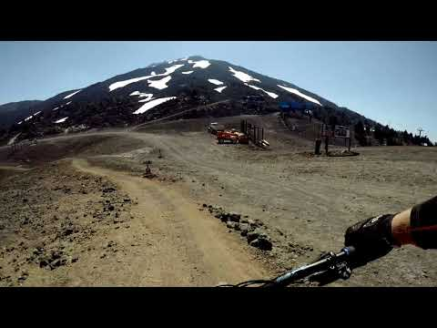 Mt  Bachelor lift access trails - Part 1
