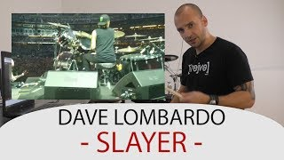 Gambar cover Drum Teacher Reacts to Dave Lombardo - Drummer of Slayer