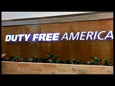 Duty Free Airport Dominican Republic. (Доминикана. Пунта Кана)