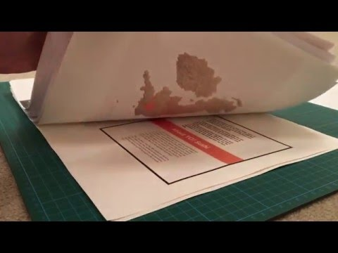 ASMR Paper sounds/ gluing and sticking