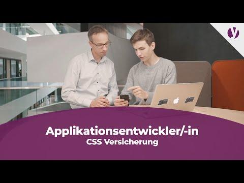 Lehre Als Applikationsentwickler/-in Bei Der CSS Versicherung