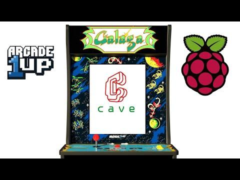 Arcade1Up Galaga Pi 4 Mod from Original Console Gamer