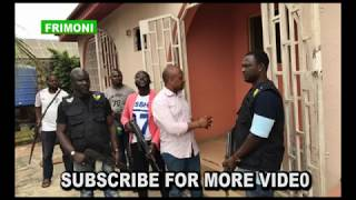 billionaire  kidnapper Evans takes police to is detention house's