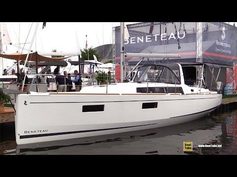 2017 Beneteau Oceanis 38.1 Sailing Yacht - Deck Interior Walkaround - 2016 Annapolis Sailboat Show