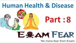Biology Human Health & Diseases part 8 (Malaria) class 12 XII