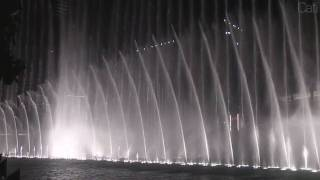 The Dubai Fountain - Baba Yetu - Burj Khalifa and Souk al Bahar