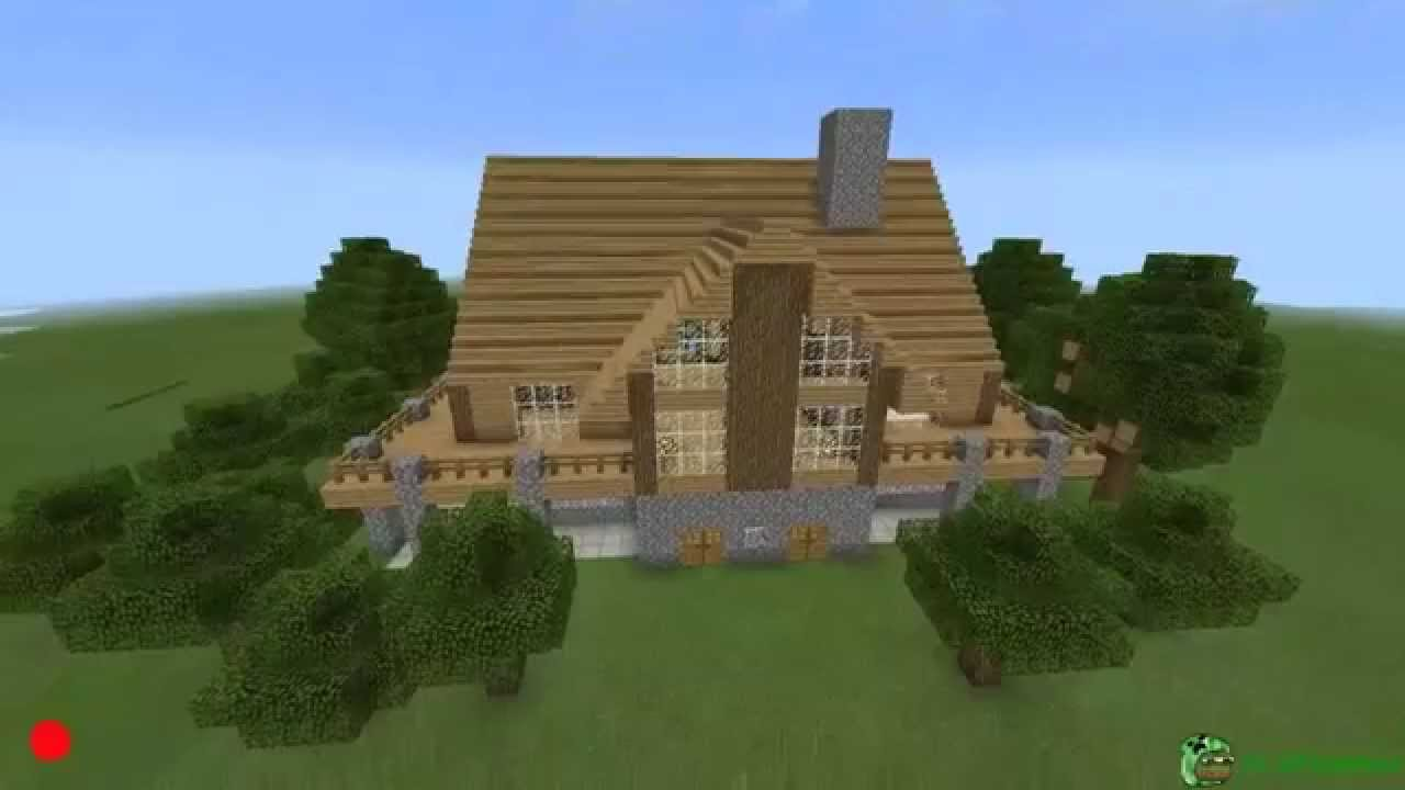 Minecraft Pocket Edition BIG HOUSE Seed YouTube