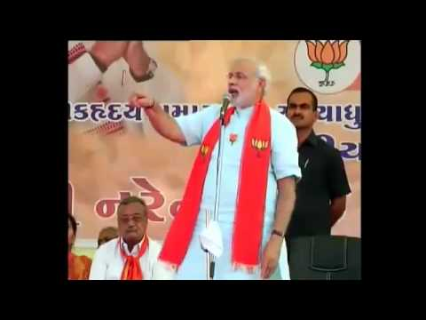 Narendra Modi's election speech in Anand