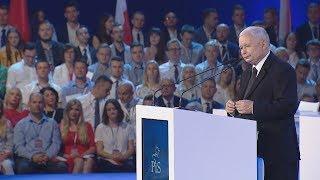 Jarosław Kaczyński: Demokracja nie może polegać na oszustwie i manipulacji   Konwencja PIS, 02.08.18
