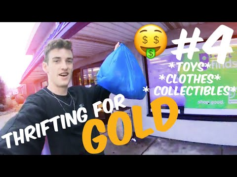 THRIFTING FOR GOLD #4 AMVETS!! GOODWILL!! |THRIFT STORE GOLD|