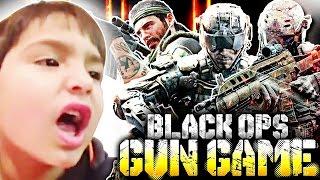 OMG MY BIGGEST FANBOY?! (Let's Play GUN GAME in Black Ops 1, 2 & 3)