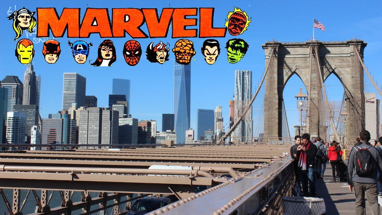 marvel comics in new york