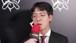 SKT kkOma defends TSM coach from fans! Interview, Worlds Group Stage 2017