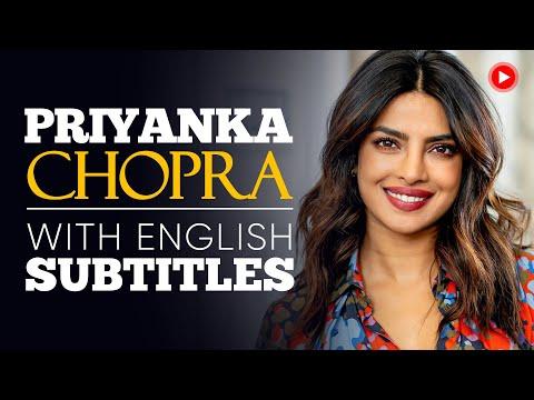 ENGLISH SPEECH | PRIYANKA CHOPRA: Be Fearless (English Subtitles)