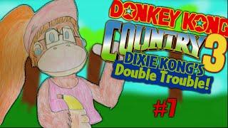 Donkey Kong Country 3 - Dixie Kong