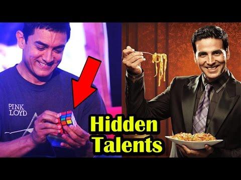 Unbelievable Hidden Talents Of Bollywood Celebrities
