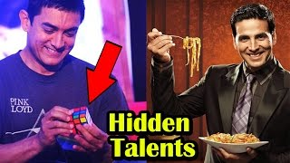 Unbelievable Hidden Talents Of Bollywood Celebrities