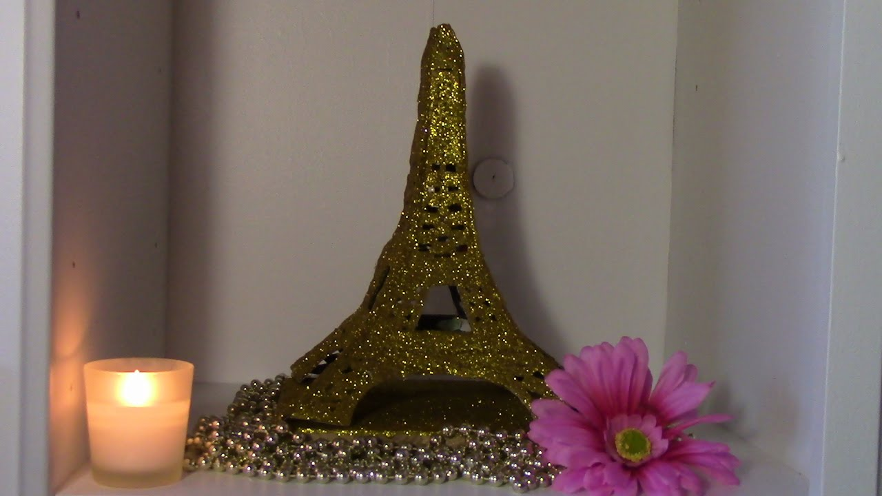DIY TORRE EIFFEL DE CARTON - YouTube