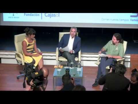 """Pablo Iglesias y Teresa Rodríguez en """"Encuentros en la Cadena Ser Andalucía"""""""