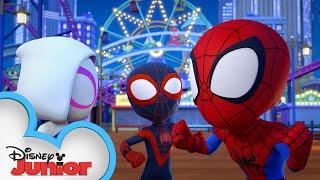 Doc Ock's Super Octopus | Marvel's Spidey and his Amazing Friends | @Disney Junior
