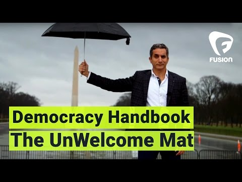 Putting Out the UnWelcome Mat • Democracy Handbook with Bass