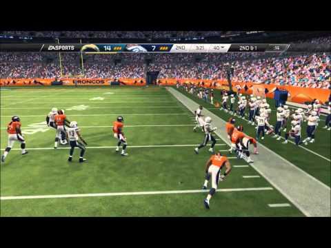 Madden PFL Pro Franchise - Week 6 - Chargers v Broncos