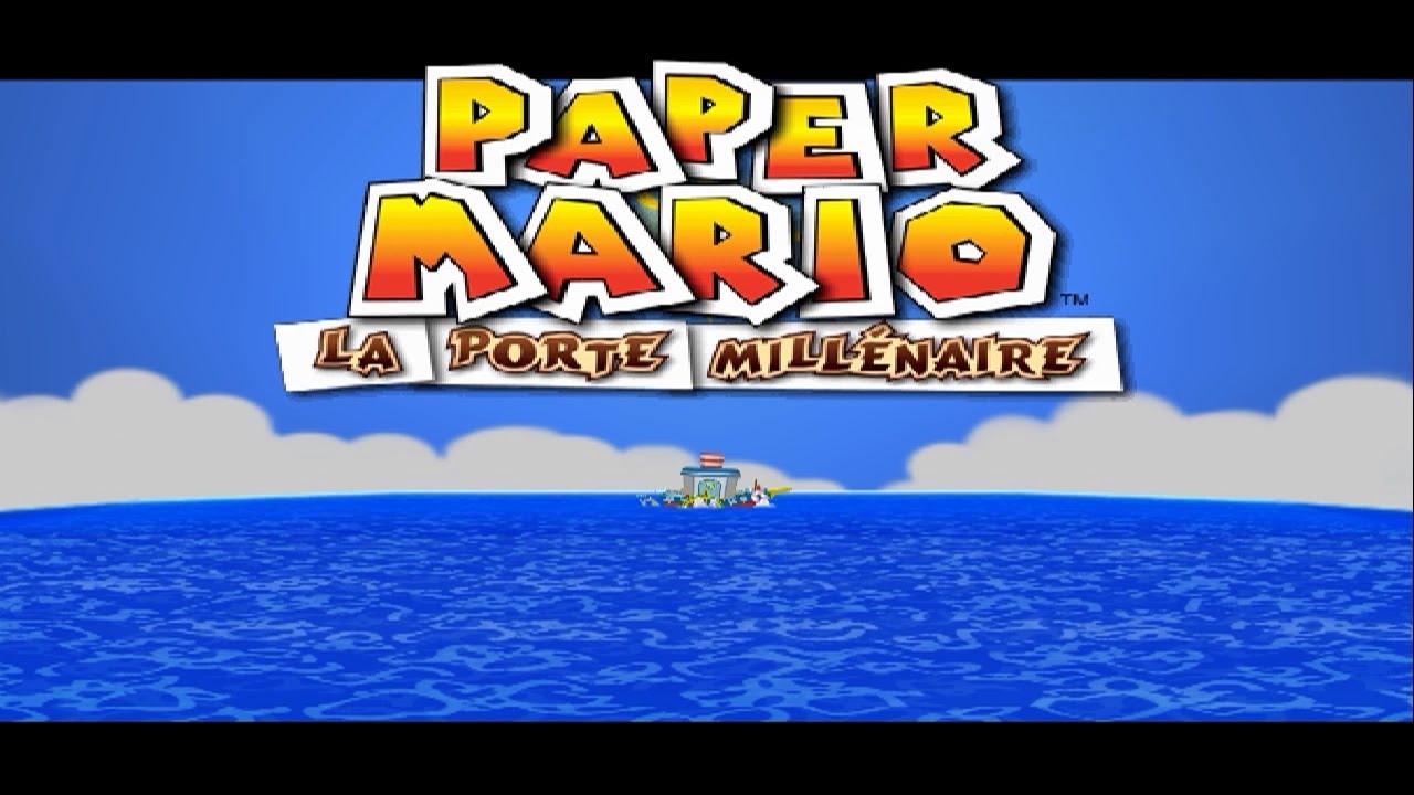 Paper mario la porte mill naire pisode 1 youtube - Video paper mario la porte millenaire ...