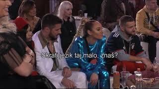 Zadruga 2 - Prilog iz emisije: Prepirke Lune i Marka - 21.01.2019.