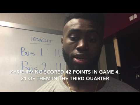 Kyrie Irving went off in Game 4 - Boston