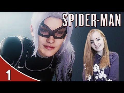 BLACK CAT IS CRAZY! | Spider Man PS4 The Heist DLC Gameplay Walkthrough Part 1