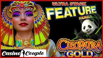 54 FREE GAMES 🤑ULTRA STACKS PANDA🐼 CLEOPATRA GOLD🥇 MAX BET BONUS Casino Couple 🎰