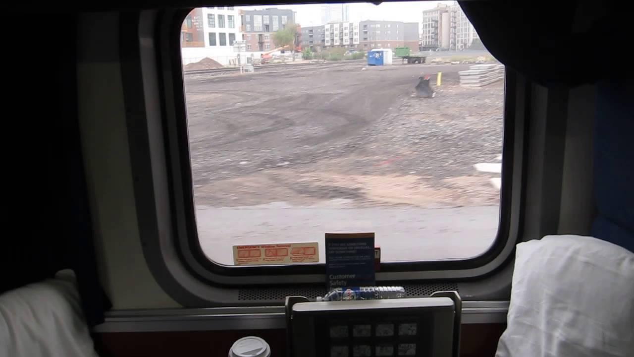 Amtrak Superliner Family Bedroom - YouTube